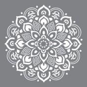 Plantilla Stencil Decoart Mandala Medio