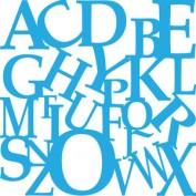 Plantilla Stencil Decoart Collage de alfabeto