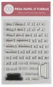 Sellos temática Calendario - Basiccrea