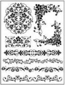 Sellos Stamperia Senefas Florales