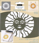 Plantilla Sol Celestial de DecoArt