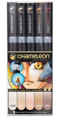 Chameleon 5 rotuladores CT0510 Tonos piel