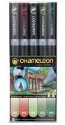 Chameleon 5 rotuladores CT0514 Tonos naturaleza