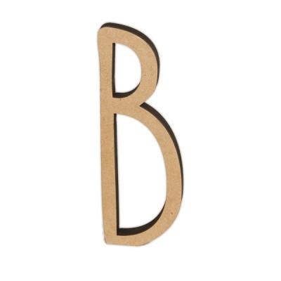 Letra DM 10cm Miss Craft - B