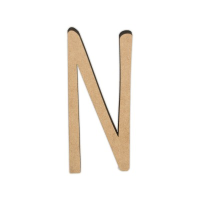 Letra DM 10cm Miss Craft - N