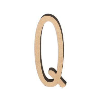 Letra DM 10cm Miss Craft - Q