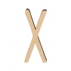 Letra DM 10cm Miss Craft - X