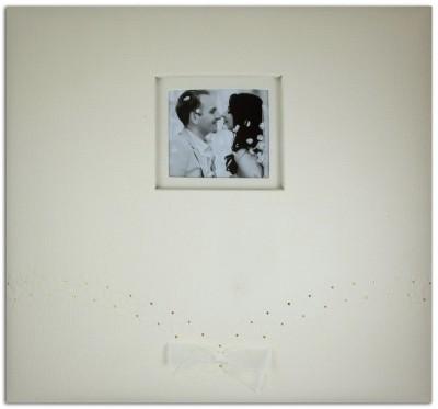 Album Scrap 30.5x30.5cm Mariage Ivoire - Toga