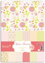 Bloc Scrap A4 - Color Factory - Toga ppk014