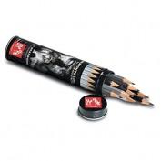 Caran d'Ache Grafwood: caja metálica con 15 lápices Grafwood 775-315