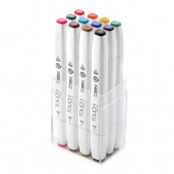 Touch Marker Brush Set 12 colores principales 1211213