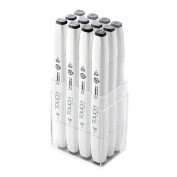 Touch Marker Brush Set 12 tonos gris frio 1211203