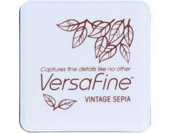 Versafine Vintage sepia 33x33 mm