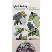 Stickers Globe American Craft 3D Botanical