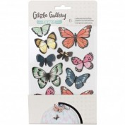 Stickers Globe American Craft 3D Butterfly