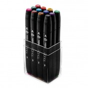 Touch Twin 12 Marker Set colores principales