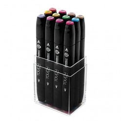 Touch Twin 12 Marker Set pastel colors 1101216