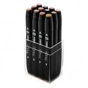 Touch Twin 12 Marker Set colores madera 1101210
