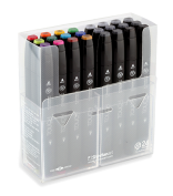 Touch Twin 24 Marker Set