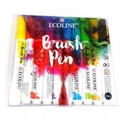 Ecoline Brush pen Set 10 rotuladores