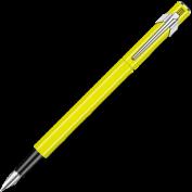 Pluma estilográfica Caran d'Ache 849 Amarillo Fluor