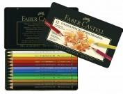 Faber Castell Polichromos 12 lapices de colores