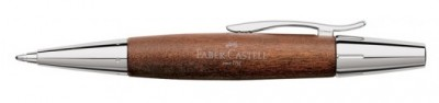 Faber Castell 148382 - Bóligrafo E-moticon Madera de peral Cognac