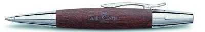 Faber Castell 148381 - Bolígrafo E-moticon marrón oscuro