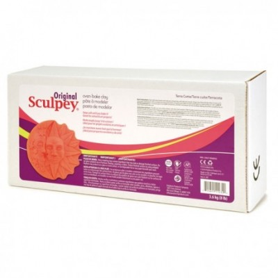 Original Sculpey Terracota 3,6 kg