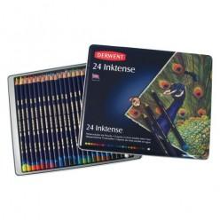 Derwent Inktense Caja 24 lápices de color