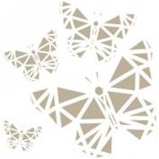Stencil Mariposa 12x12 cm 0005574