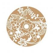 Stencil Floral 20x20 cm 1454