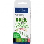 Faber Castell: Set 6 rotuladores para lettering 267117