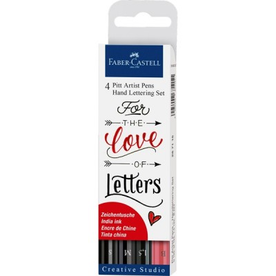 Faber Castell: Set 4 rotuladores para lettering267115