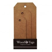 Etiquetas madera Pack 3 etiquetas