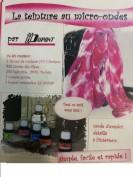 Kit teñido pintura de seda para microondas H:Dupont -Tonos rojos