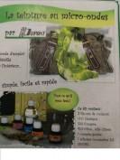 Kit teñido pintura de seda para microondas H:Dupont -Tonos verdes