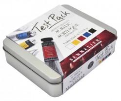 Test Pack 5 Óleos extrafinos Sennelier