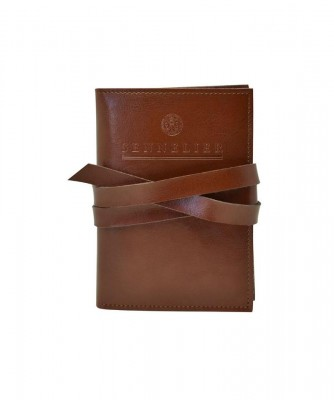 Funda de cuero con 2 cuadernos A6 Sennelier