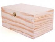 Caja de madera de pino 29x9,5x7,5 cm