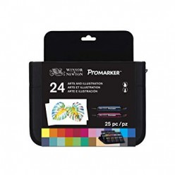 Promarker Set 24 Rotuladores Arte e Ilustración
