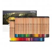 Lyra Rembrandt Caja metálica 72 lápices colores acuarelables