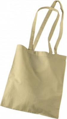 Bolsas de algodón Asas Largas Crudo