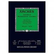 Arches Bloc Acuarela A3 12 hojas 300 gr