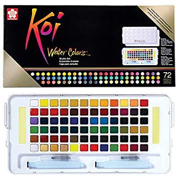 Sakura Koi Caja de 60 colores acuarela