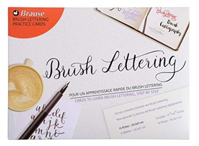 Aprender Brush Lettering rápidamente Brause 197-B