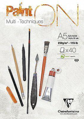 Paint On 96538C Multi-Técnicas Clairefontaine A5