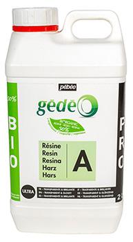 Resina Gédéo Biológica 3 litros