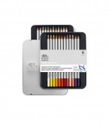 Winsor&Newton Caja 24 lápices de colores acuarela