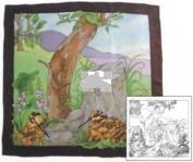 Pañuelo seda pre dibujado Woodcoks SGS 966